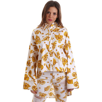 Vêtements Femme Chemises / Chemisiers Versace B0HVB624S0771003 Blanc