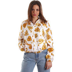 Vêtements Femme Sweats Versace C9HVB92525115003 Blanc