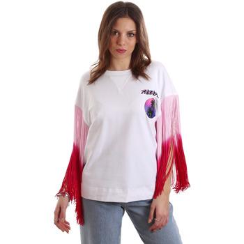 Vêtements Femme T-shirts manches courtes Versace B2HVB71511701003 Blanc