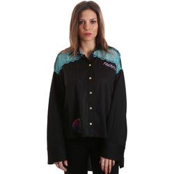 Vêtements Femme Chemises / Chemisiers Versace B0HVB60310623899 Noir