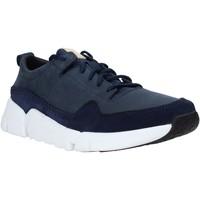 Chaussures Homme Baskets basses Clarks 26141432 Bleu