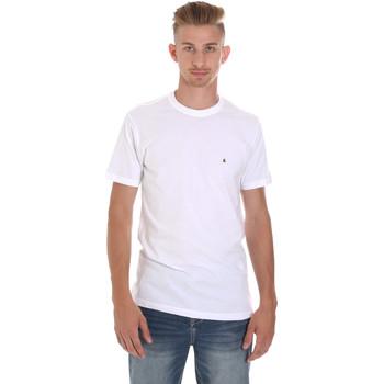 Vêtements Homme T-shirts manches courtes Les Copains 9U9011 Blanc