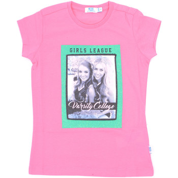 Vêtements Fille T-shirts manches courtes Melby 70E5645 Rose