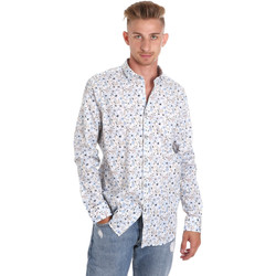 Vêtements Homme Chemises manches longues Sseinse CE491SS Blanc