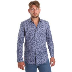 Vêtements Homme Chemises manches longues Betwoin D066 6635535 Bleu