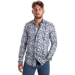 Vêtements Homme Chemises manches longues Betwoin SELZ 6635535 Bleu