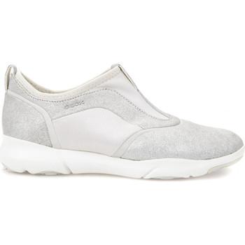 Chaussures Femme Slip ons Geox D829DE 0KY15 Gris