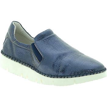 Chaussures Femme Slip ons Mally 5711 Bleu