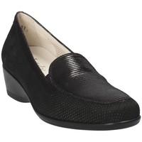 Chaussures Femme Mocassins Melluso R30506E Noir
