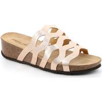 Chaussures Femme Mules Grunland CB2490 Beige