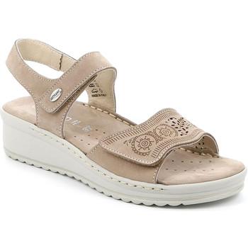 Chaussures Femme Sandales et Nu-pieds Grunland SA2580 Beige