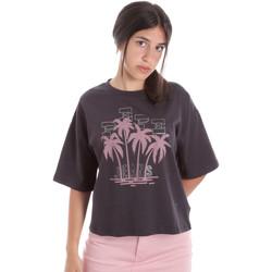 Vêtements Femme T-shirts manches courtes Pepe jeans PL504468 Noir