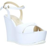 Chaussures Femme Sandales et Nu-pieds Esther Collezioni G 029 Blanc