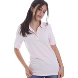 Vêtements Femme Polos manches courtes Geox W0210B T2649 Rose