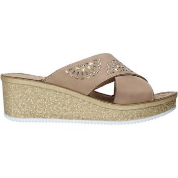 Chaussures Femme Mules Grunland CI1771 Beige