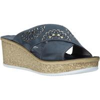 Chaussures Femme Mules Grunland CI1771 Bleu