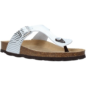 Chaussures Femme Tongs Grunland CB2469 Argent