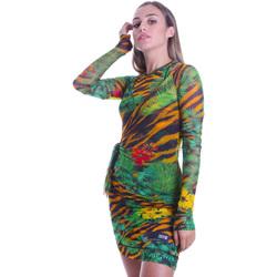 Vêtements Femme Robes courtes Versace D2HVB495S0782983 Noir