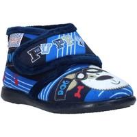 Chaussures Enfant Chaussons Grunland PA0623 Bleu