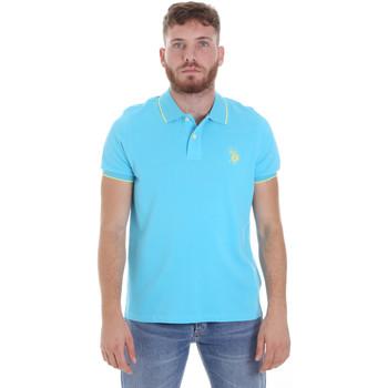 Vêtements Homme Polos manches courtes U.S Polo Assn. 58561 41029 Bleu
