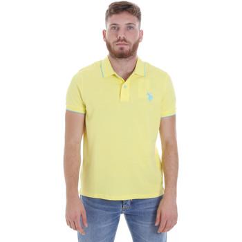 Vêtements Homme Polos manches courtes U.S Polo Assn. 58561 41029 Jaune