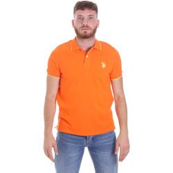 Vêtements Homme Polos manches courtes U.S Polo Assn. 58561 41029 Orange