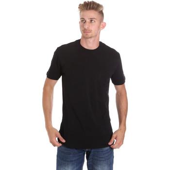 Vêtements Homme T-shirts manches courtes Les Copains 9U9010 Noir
