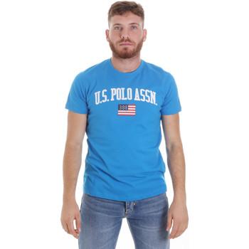 Vêtements Homme T-shirts manches courtes U.S Polo Assn. 57117 49351 Bleu