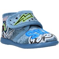 Chaussures Enfant Chaussons Grunland PA0628 Bleu