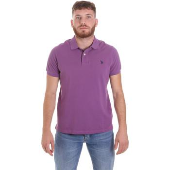 Vêtements Homme Polos manches courtes U.S Polo Assn. 55957 41029 Violet