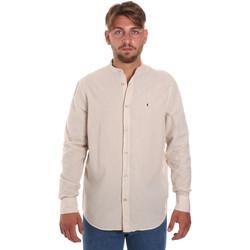 Vêtements Homme Chemises manches longues Les Copains 9U2722 Beige