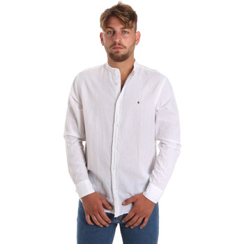 Vêtements Homme Chemises manches longues Les Copains 9U2722 Blanc