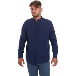 Vêtements Homme Chemises manches longues Les Copains 9U2722 Bleu