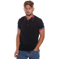 Vêtements Homme Polos manches courtes Antony Morato MMKS01805 FA100213 Bleu