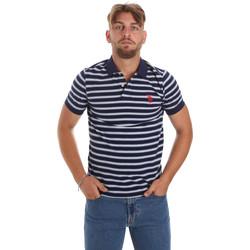 Vêtements Homme Polos manches courtes U.S Polo Assn. 56336 52802 Bleu