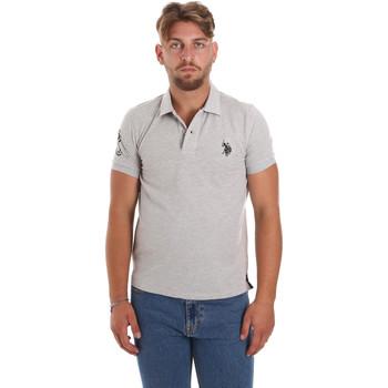 Vêtements Homme Polos manches courtes U.S Polo Assn. 55985 41029 Gris