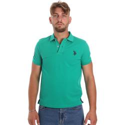 Vêtements Homme Polos manches courtes U.S Polo Assn. 55985 41029 Vert