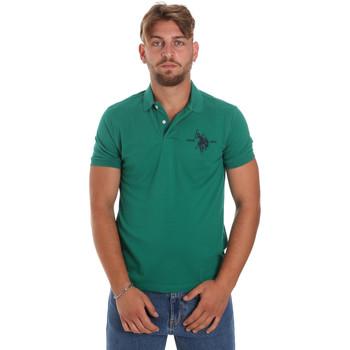 Vêtements Homme Polos manches courtes U.S Polo Assn. 55959 41029 Vert