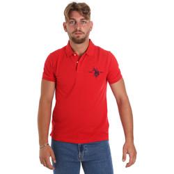 Vêtements Homme Polos manches courtes U.S Polo Assn. 55959 41029 Rouge