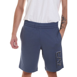 Vêtements Homme Shorts / Bermudas Ea7 Emporio Armani 3HPS73 PJ05Z Bleu