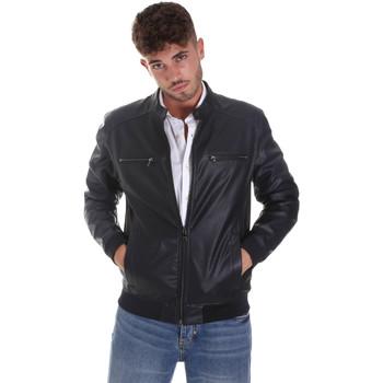 Vêtements Homme Vestes en cuir / synthétiques Sseinse GBE574SS Bleu