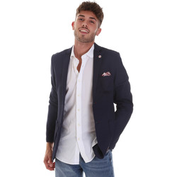 Vêtements Homme Vestes / Blazers Sseinse GAE606SS Bleu