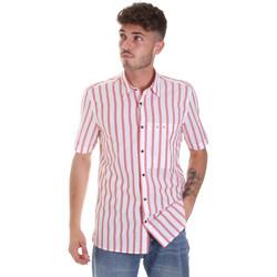 Vêtements Homme Chemises manches courtes Antony Morato MMSS00154 FA420084 Rouge