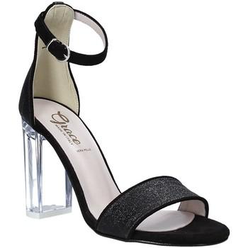 Chaussures Femme Sandales et Nu-pieds Grace Shoes 018TR003 Noir