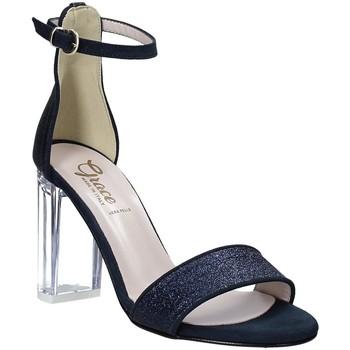 Chaussures Femme Sandales et Nu-pieds Grace Shoes 018TR003 Bleu