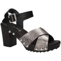 Chaussures Femme Sandales et Nu-pieds Keys 5864 Gris