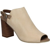 Chaussures Femme Sandales et Nu-pieds Mally 5738 Beige