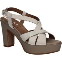 Chaussures Femme Sandales et Nu-pieds Mally 5744 Argent
