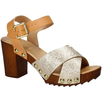 Chaussures Femme Sandales et Nu-pieds Keys 5864 Jaune