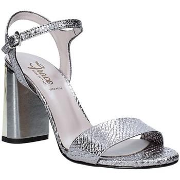 Chaussures Femme Sandales et Nu-pieds Grace Shoes 2384L007 Gris